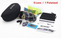 ingrosso lenti a balestra-5 lenti ESS crossbow occhiali tattici polarizzati esercito tiro tattico occhiali TR-90 telaio occhiali UV400 occhiali a prova di proiettile