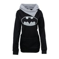 Wholesale Batman Sweatshirt Woman - Women Tracksuit Superhero Superman Men Sport Pullovers Hoodies Sweatshirts Batman 3D Cartoon Printed Winter Jumper Jacket Outfits YYFS 0409