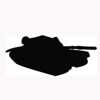 Wholesale Tank Stickers For Car - Wholesale 10pcs lot King Land Warfare MBT Tank Styling Car Stickers for Truck Window Bumper SUV Door Laptop Automotive Exterior Vinyl Decal