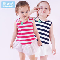 Wholesale Yingzifang Kids Dresses for Girls Clothes Babys Summer Girl Clothing Dresses Pincess Party Beach Dress