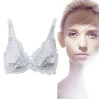 Wholesale Halter Black Lace Bra Underwire - 2017 New Women Lace Sexy Bra Transparent Large Bra CDcup