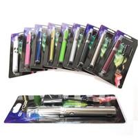 Wholesale Evod Battery Pack - EVOD MT3 Blister pack kit starter kits single kits e cigs cigarettes 650mah 900mah 1100mah battery MT3 atomizer