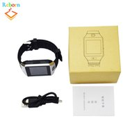 Wholesale Hot Android Phones - Hot selling DZ09 smartwatch for Apple android phone smart watch with camera Anti-lost support SIM TF card MP3 pk GT08 A1 U8