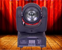 spot lights auto - NEW RGBW led w mini moving head light spot led stage light dj led light