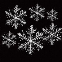 Wholesale White Snowflake Tree Ornaments - Wholesale-30pcs new silk artificial snowflake Snow White Christmas Decortions Christmas Tree Ornaments Holiday Festival Party Home Decor