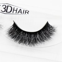 Wholesale Handmade C - 3D Mink Eyelashes Natural Extension Long Cross Thick Mink Lashes Handmade Eye Lashes A09