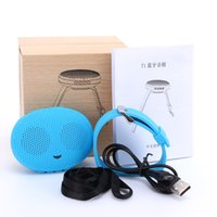 Wholesale Docking Speaker For Iphone - T1 Bluetooth Stereo Smart Wear Watches Speakers Sound Waterproof outdoor subwoofer Small For iphone samsung HTC Speakers