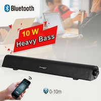 NUEVO 10 W MINI BLUETOOTH TV SOUNDBAR SPEAKER ORDENADOR DE SONIDO BAR, CON BASS PESADO Y PROFUNDO, SOPORTE USB DIGITAL AUDIO, PLUGPLAY