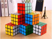 Wholesale Games Explore - Creative third-order smooth rubik's Rubics Cube Rubix Cube Magic Cube Rubic Square Mind Game Puzzle for Kids (Color: Multicolor) 5.7x5.7x5.7