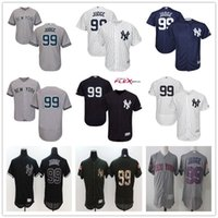 Wholesale Green Road - New York Yankees #99 Aaron Judge Home White Road Gray Away Blue Cool Base Stitched NY Baseball Jerseys Hot Sale