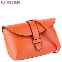 Wholesale Designer Cell Phone Pouch - Wholesale-FLYING BIRDS! women bags ladies women messenger bags crossbody leather handbag designer women's pouch famous brands bag LS8895fb