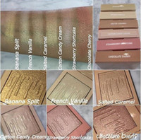 Wholesale strawberry candy - 6 Color Kylighter Kylie Highlighters Kylie Cosmetics Strawberry Shortcake Candy Cream Salted Caramel Banana Split Kylighter French Vanilla