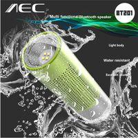 Wholesale Altavoz Subwoofer - AEC BT201 2 in 1 Wireless Bluetooth Speaker Loudspeaker with Mic Support Hands-free Calls Altavoz With Flashlight Function
