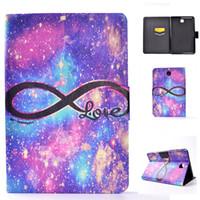 galaksi tabları deri çanta toptan satış-Samsung Galaxy Tab Için PU Deri Tablet Kılıf Bir 8.0