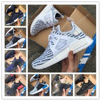 Wholesale Woman Leather Socks - 2017 NMD Runner 3 III XR1 Camo x City Sock PK Navy NMD_XR1 Primeknit Running Shoes For Men Women Fashion Sports Sneakers Trainers US 5-11