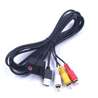 Wholesale Audio Harness - Car audio converter, aux harness, 3.5mm 3, RCA car, AUX USB, Volkswagen head for TOYOTA Volkswagen