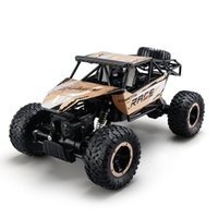 Wholesale Electric Rc Cars Road - Original JJR C Q15 1 14 2.4GHz 4WD Alloy RTR Rock Crawler Off-road Vehicle RC Car gold green blue optional