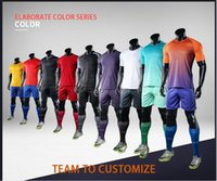Wholesale Men S Printed Suit - All football jerseys DIY Groups or individuals soccer jersey uniform football shirt at training suit group purchase custom printing..
