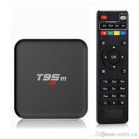 Wholesale Tronsmart 2gb - T95M TV Boxes Loaded KD16.0 Amlogic S905X 2GB Ram 4k TV box Wifi Tronsmart supported Ott TV Box