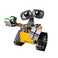 Wholesale Idea Models - Lepin 16003 Idea Robot WALL E Cartoon Building Block Set Model Kids Eductional Toy without box