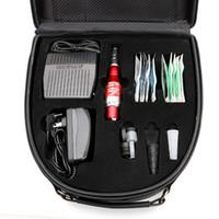 maquiagem permanente profissional venda por atacado-Kit de Maquiagem Permanente profissional Maquiagem Caneta Tatuagem com Acessório de Encaixe de Pedal para o Tatuagem Artista Kits MKT211-7