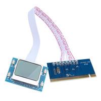 Wholesale wholesale laptop motherboards online - Newest High Quality PCI Motherboard Analyzer Diagnostic Tester Post Test Card for PC Laptop Desktop