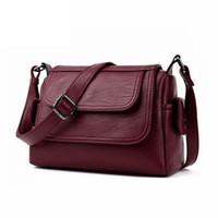 Wholesale Spring Women Handbags - 2017 Spring Summer Fashion Crossbody Bags Single Shoulder Bags Ladies PU Leather Bags Women Handbags New Sac Femme