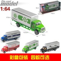 model metal toys cars prices - 1:64 Alloy Car Model Portable Plastic Container Truck Metal Cars Toys For Children Birthday Gift