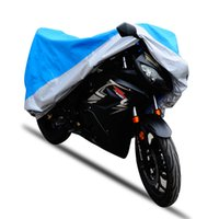 Wholesale Bike Cover For Rain - 190T Theftproof Motorcycle Cover Outdoor UV Protector Waterproof Rain Dustproof Covers for Motorcycle Motor Cover Scooter Bike