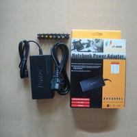 alimentação universal do adaptador de carregador 96w venda por atacado-Plugues diferentes New Venda Quente Universal 96 W Laptop Adaptador AC Power Charger dell plug com retial packag Livre DHL100pcs / lot