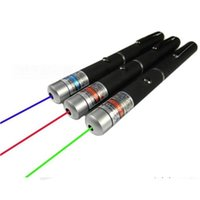 Wholesale Green Red Blue Laser Pointer - LED Laser Pointers Green Blue RED Beam SOS Laser Pointer Pen Mounting Night Hunting Teaching Lights Pointers PPT Meeting Guider Doctor Using