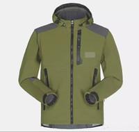 Wholesale Waterproof Coats Plus Size Women - Wholesale-Men Waterproof Breathable Softshell Jacket Men Outdoors Sports Coats women Ski Hiking Windproof Winter Outwear Soft Shell jacket