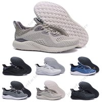 Wholesale Alpha Leather - Wholesale Cheap Hot Sale Alphabounce EM Boost 330 Running Shoes Alpha bounce Sports Trainer Sneakers Man Shoes With Box Size 40-45 US 7-11