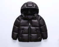 Wholesale Childrens Down Jackets - 2017 winter down jacket parka for girls boys coats 90% down jackets childrens clothing for snow wear kids outerwear coats