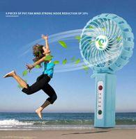 Wholesale Wind Power Build - Portable Rechargeable Fan Mini Fan Outdoor Fan Clip Desktop 3 Speed Multipurpose Collapsible Built in Recharged Battery Power Bank