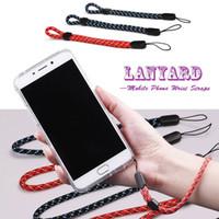 hang phone strap großhandel-Universal Lanyards Handgelenk Lanyard Short Straps Nylon Hang Rope für Key U Festplatte MP3 Mp4 ID Halter Handy Handy