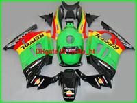 Wholesale Motorcycle 1995 - ABS plastic fairings for honda cbr600f3 95 96 97 98 black green motorcycle fairing kit cbr600 f3 1995-1998 AD40
