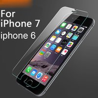 Wholesale Best Selling Screen Protector - Best sell 10Pcs Tempered Glass for iPhone 7 6 5 5s 9H 2.5D 0.26mm Explosion Proof screen protector Film for iphone 6 6s 7 plus