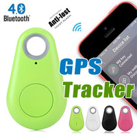 Wholesale Wholesale Pet Car - Anti-Lost Alarm 4.0 Bluetooth Tracer iTag Smart Key Finder Tags for Apple iPhone Android Car GPS Locator Mini Wireless IT-06 Selfie Tracker