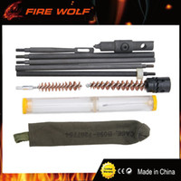 Wholesale rifle kits for sale - Group buy FIRE WOLF Hunting Rifle Cleaning Kit Set Pouch For Model M1 Cleaning Pouch w Oiler for Hunting