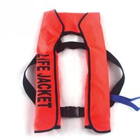 Wholesale Boating Vest - Unisex Water Sports Life Vest Buoy Automatic Inflatable Surfing Life Jacket Adult Swimwear Boating Swimming Water Sports Safety Jackets