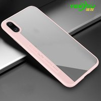 Wholesale Handy Mobile - Case For iphone X Ultra-thin silicone transparent Luxury Protector Cover Aluminium Mobile Cell Phone Cases Soft Handy
