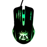 Atacado- marca Wired 6 botões USB Laptop Gaming Mouse sem fio gamer Computador óptico PC Notebook para DOTA2 CS go Gamers Snigir Mice X7