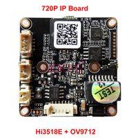 "Wholesale Dsp Ccd Board Camera - 720P IP Module PCB Circuit Mother Board with Hi3518E DSP 1 4"" OV9712 Sensor for CCTV Video Surveillance Security Network Camera"