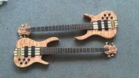 Wholesale Active Pickups Bass - Wholesale-2016 new + factory + ken smith 5 strings bass quilted maple top active pickups custom ken smith electric bass Free shipping