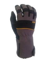 Wholesale A heavy duty performance work glove featuring a quot safety cuff and non slip reinforcement on the palmside extending to mid forearm