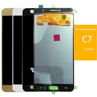 Wholesale Lcd C7 - Tested Good Working LCD Display Screen For Samsung Galaxy C7 C7000 LCD Display +Touch Screen Digitizer Assembly Tools