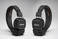 ingrosso cuffia di hifi del metallo di 3.5mm-MAJOR II Bluetooth Cuffie auricolari stereo senza fili Hifi Bass Metal Rock Cuffie con cancellazione del rumore Oltre cuffie auricolari Spedizione gratuita