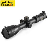 équipement tactique achat en gros de-SBEDAR 3 - 9X 40 AOEIR Chasse Équipement de Télescope Rifle Gun Portée Tactique Antichoc Résistant À L'eau Télescopes Antibrouillard