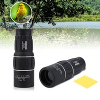 videokamera teleskopisch großhandel-16 x 52 High-Definition-Dual-Fokus-Zoom-Optik-Objektiv Armoring Monocular Teleskop Outdoor-Reisen Monocular Scope Fernglas